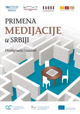 Primena medijacije u Srbiji - SRB