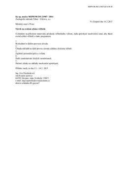 Návrh - insolvenční rejstřík, oddíl B