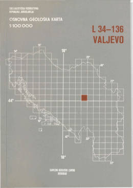 TUMAC za list VALJEVO