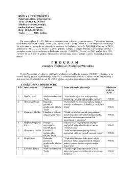 Program Nauka 2010.pdf - Ministarstvo obrazovanja, nauke, kulture