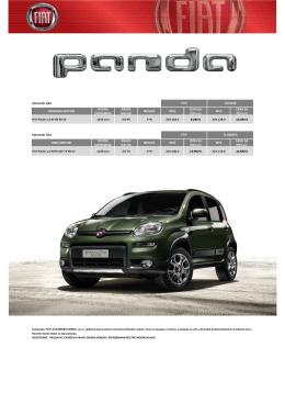 Cenovnik - Fiat Automobili Srbija