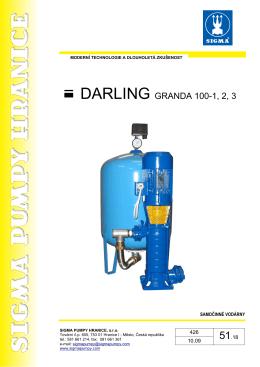 DARLING GRANDA 100-1, 2, 3