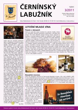 Černínský Labužník 3 - Restaurace U Černínů