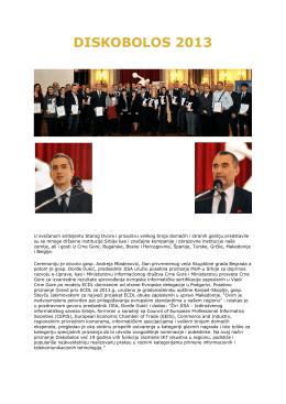 DISKOBOLOS 2013 - Akademija Filipović