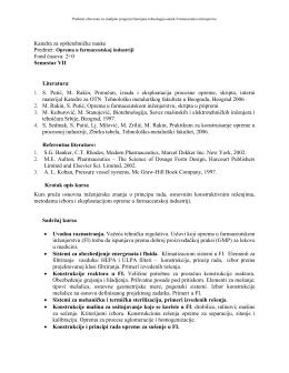 Oprema u FI.pdf - Tehnološko