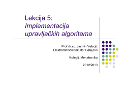 Programirljivi logički kontroleri (PLC)
