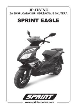 Eagle uputstvo.indd - SPRINT Skuteri