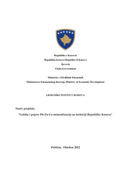 Naziv projekta - Ministria e Zhvillimit Ekonomik