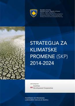 StrateGija za KlimatSKe Promene (SKP) 2014-2024