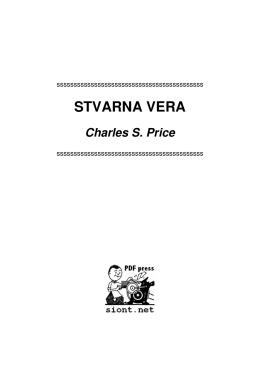 STVARNA VERA / Charles S. Price