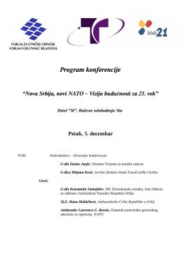 Program konferencije