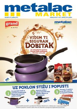 Metalac market katalog oktobar 2014