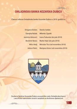 OMLADINSKA BANKA KOZARSKA DUBICA