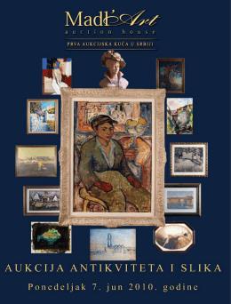 20. Aukcija antikviteta i slika