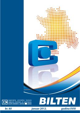 Broj 60 - Januar 2012 - regionalna privredna komora uzice