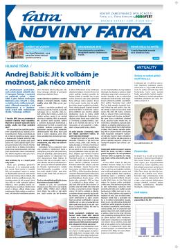 Andrej Babiš: Jít k volbám je možnost, jak něco změnit