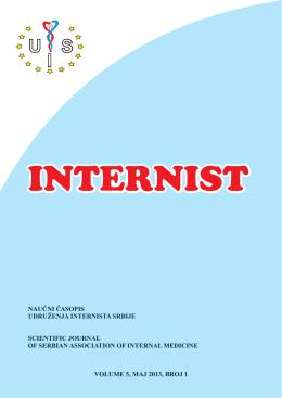 internist 1 - Udruženje Internista Srbije