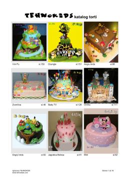 katalog torti