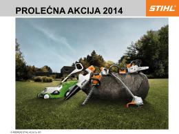 PROLEĆNA AKCIJA 2014