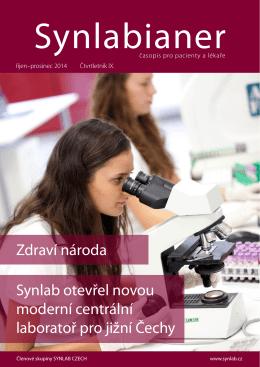 Synlabianer 04/2014 - synlab Czech Republic