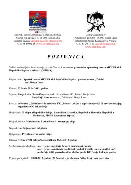 pozivnica-pdf format - SS MENERALI Republike Srpske