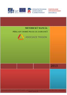 Metodický manuál - příklady dobré praxe ze