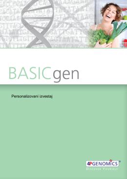 Primer izveštaja - ELPIDA Preventivna genomika