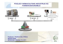 pogled farmaceutske industrije na farmakoekonomiju