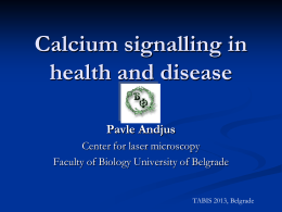 Calcium signalling in health and disease