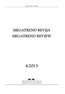 4 - Megatrend revija