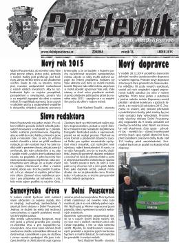 leden 2015 - Dolní Poustevna