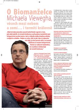 rozhovor Michal Viewegh - Astrologie – Pavla Vojířová