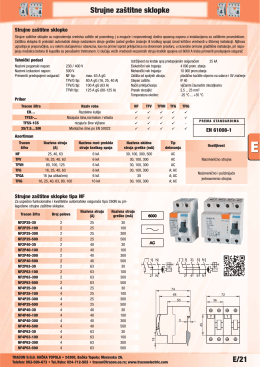 Stranice kataloga - traconelectric.com