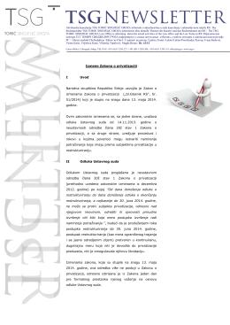 Newsletter 61 - TOMIĆ SINDJELIĆ GROZA