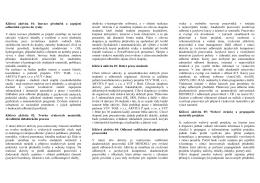 Klíčová aktivita 01: Inovace předmětů a zapojení odborníků z praxe
