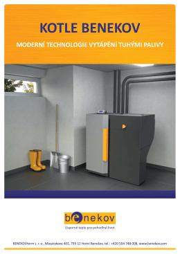 Katalog Benekov - Tepelná čerpadla|automatické kotle