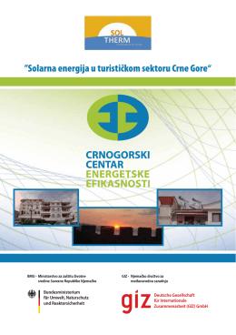 brosura – ccee za hotelijere - Crnogorski centar energetske efikasnosti