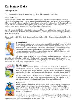 Karikatury Boha. Kateřina Lachmanová. PDF