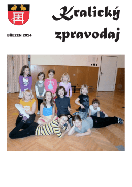 BŘEZEN 2014 - Kralice nad Oslavou