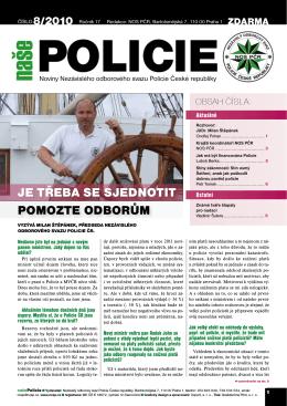 Naše policie 8/2010