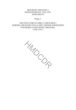 hmdcdr - hrvatski memorijalno-dokumentacijski centar domovinskog