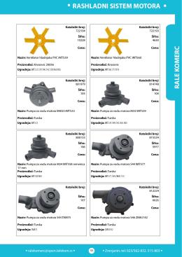 4. Rashladni sistem motora