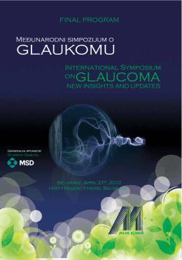 Međunarodni simpozijum o glaukomu Beograd 2012