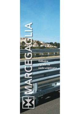 Marcegaglia, Odbojne ograde na saobraćajnicama