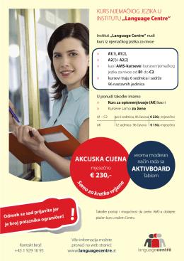 € 230,- - Languagecentre