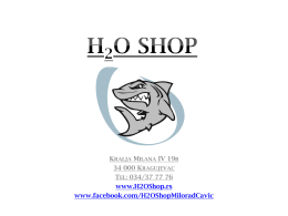 Skinite PDF - H2OShop.rs