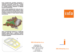 flajer geologija.cdr - IBIS INŽENJERING doo