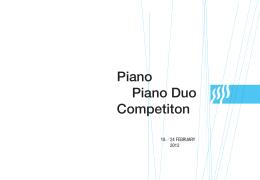 "Piano Piano Duo Competiton - muzička škola ""davorin jenko"""