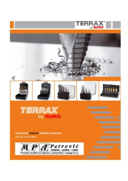 Cenovnik TERRAX (16.01.2015)