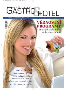 Stáhněte si časopis Gastro & hotel 01 / 2013 ve formátu PDF